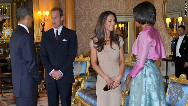 Obamas get William and Kate's digs