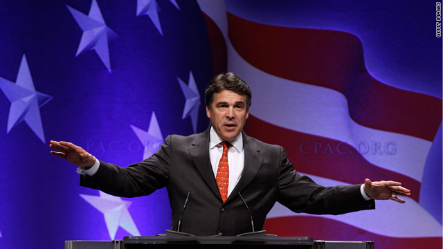 Poll: Texas voters shoot down a prez run for Perry