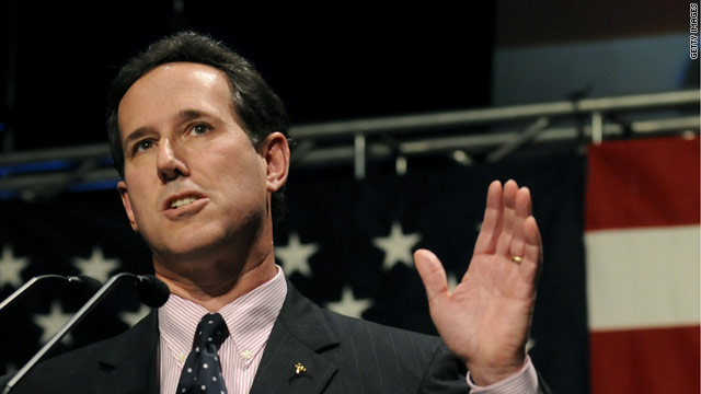 Santorum getting ready to throw hat into ring