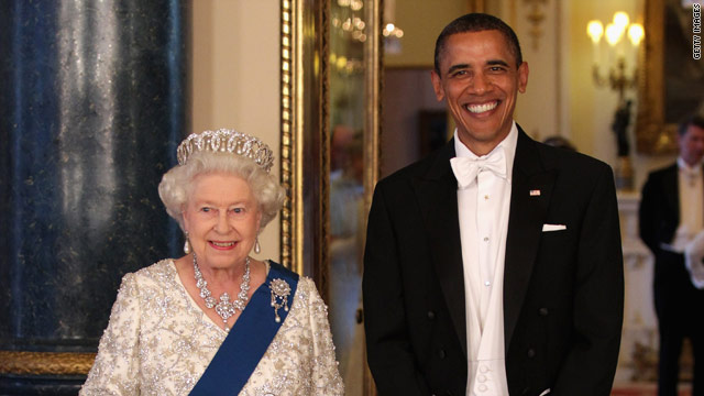 The Queen's star-studded bash for Obama