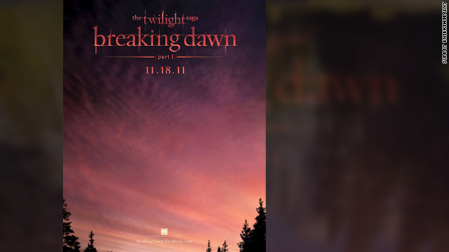 'Breaking Dawn Part I' teaser poster released