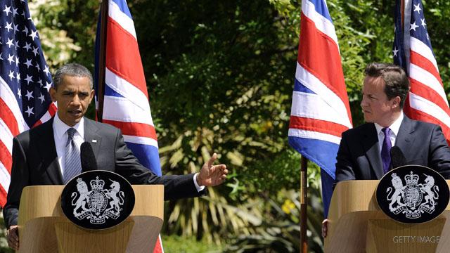 Obama makes case for 'essential' Western leadership