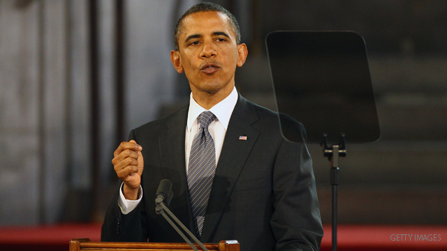 Live blog from President Obama's address to British Parliament