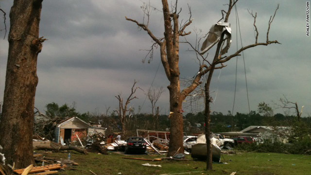 Survivor: Tornadoes always 'came and went' but never left destruction like this