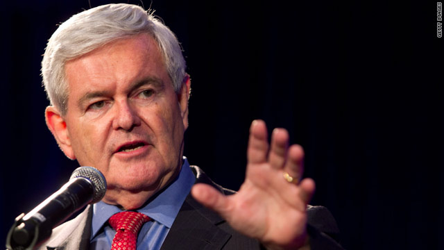 Gingrich repeats slam of 'Obamacare,' takes aim at health care law passed under Romney