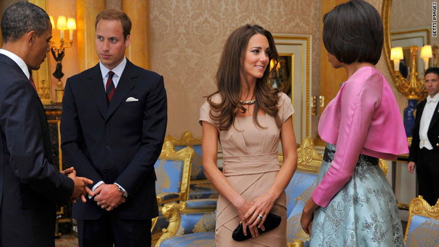 Craze for Kate Middleton's dress crashes website