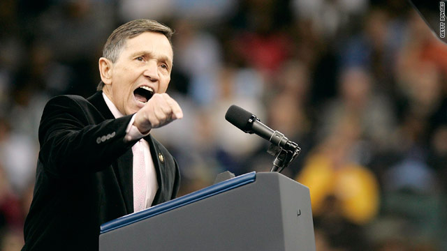 Kucinich is running for office … in some state