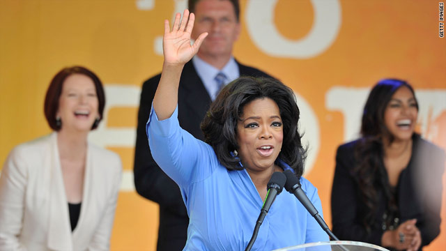 Oprah Winfrey's final show: The live blog