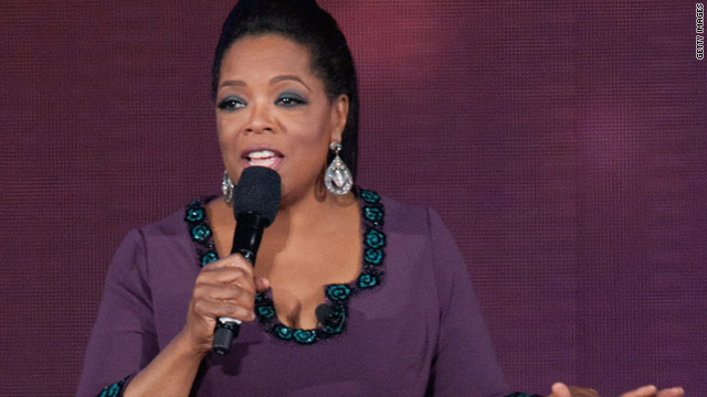 Oprah says God behind success of show
