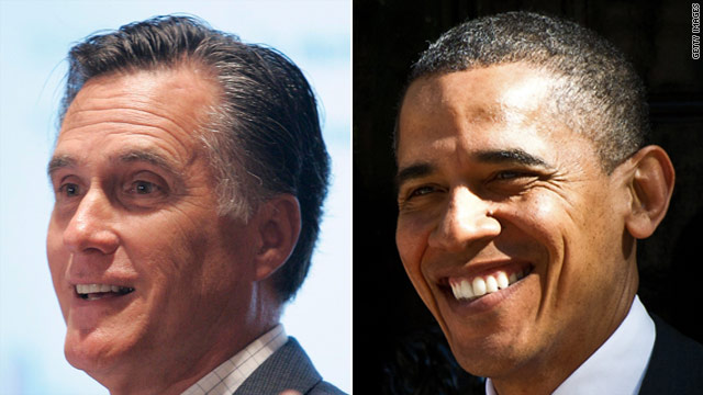 Romney to Chicago; Obama just in Boston