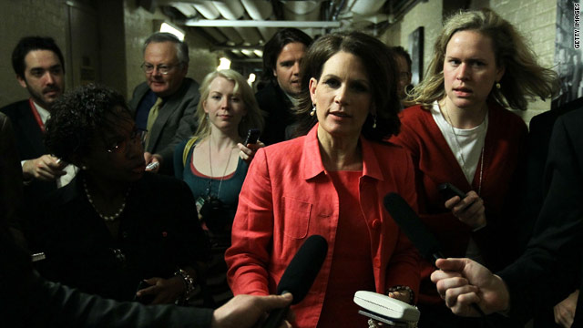 House vote keeps Bachmann from Iowa appearance