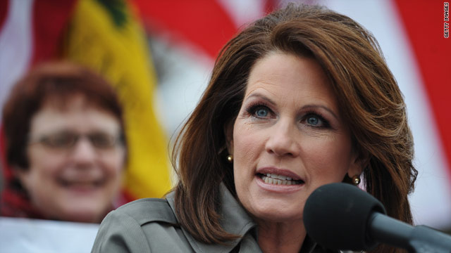 Bachmann: Palin's decision 'has nothing to do with me'