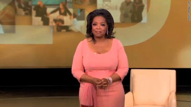 'Oprah' finale gets highest rating in 17 years