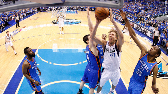 SI.com: Mavs finish off Thunder for NBA Finals berth; Bulls must beat Heat