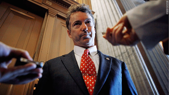 Rand Paul sounds off on own GOP leadership