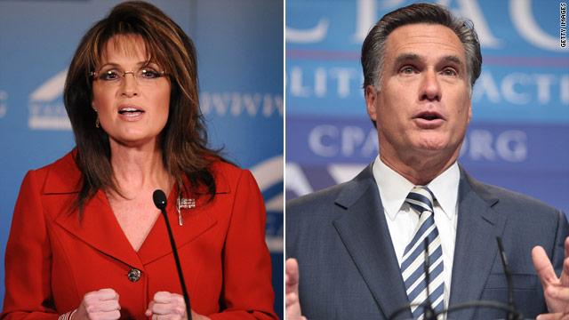 GOP 2012 poll: Romney & Palin in top spots
