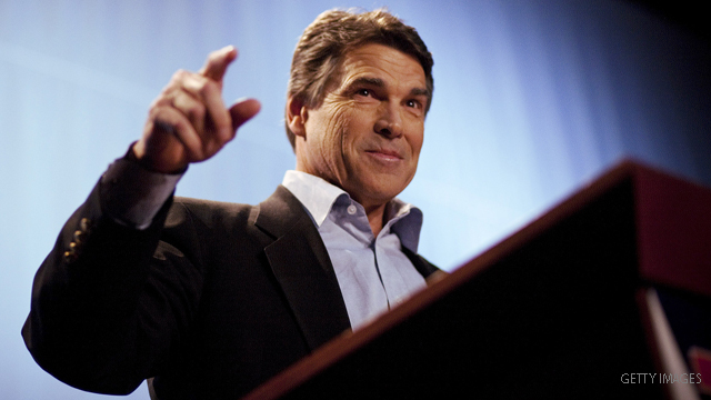 Perry &#039;thinking&#039; about presidential run