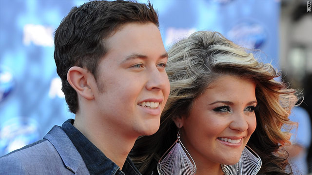 'Idol's' Scotty and Lauren: We're not dating