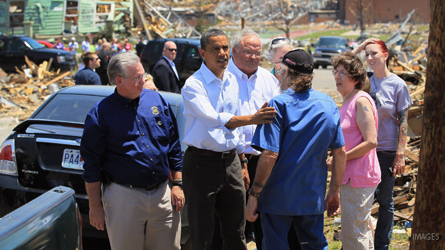 Obama visits tornado-ravaged Joplin; renamed hospital reopens