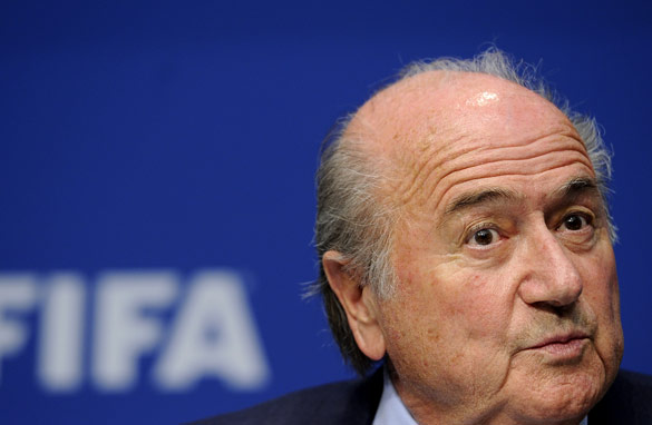 FIFA president Sepp Blatter may be re-relected for another four-year term on Wednesday.