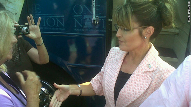 Borger: What's behind the Sarah Palin rebranding tour