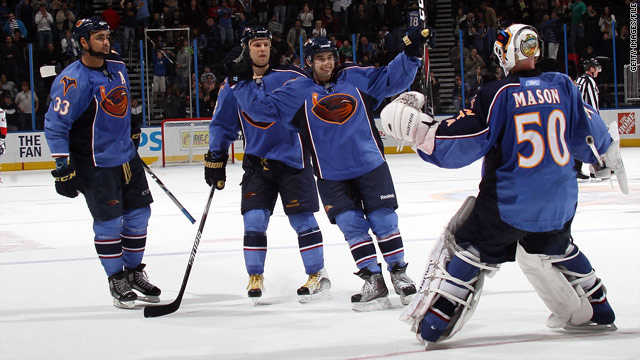 NHL's Atlanta Thrashers set to move to Winnipeg