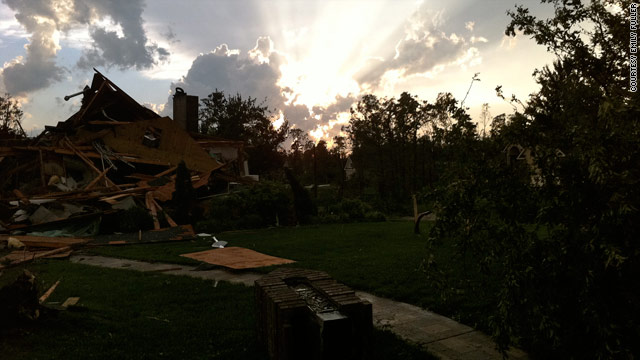 Student survives Tuscaloosa, then Joplin tornado
