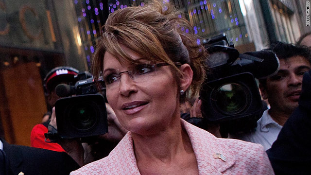 Palin apologizes for calling some Republicans 'wusses'