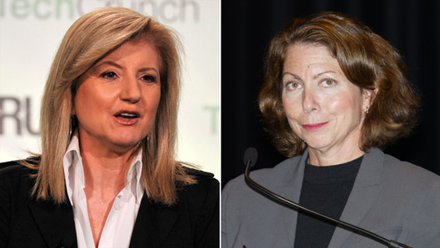 New York Times' new boss:  'I certainly don't want to be in a war' with Arianna Huffington