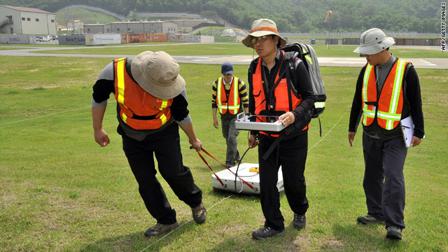 Ground-penetrating radars searching for alleged Agent Orange buried in S. Korea