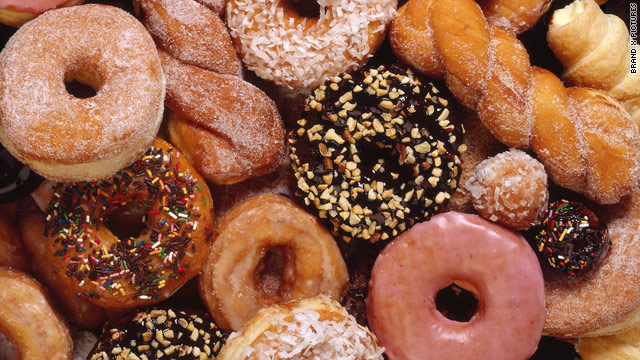 How do you do your doughnut (or donut)?
