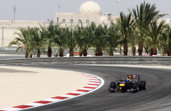 Bahrain first hosted a Formula One race in 2004 but civil unrest forced this year's event to be rescheduled. (Getty Images)