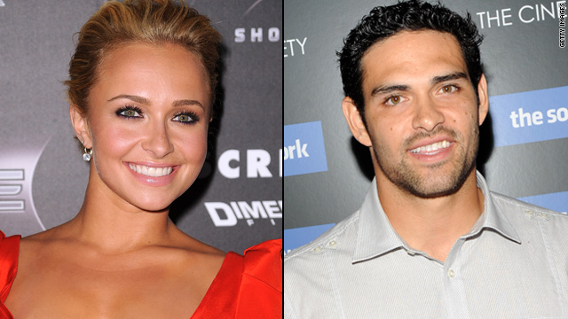 Hayden Panettiere: I'm not dating Mark Sanchez