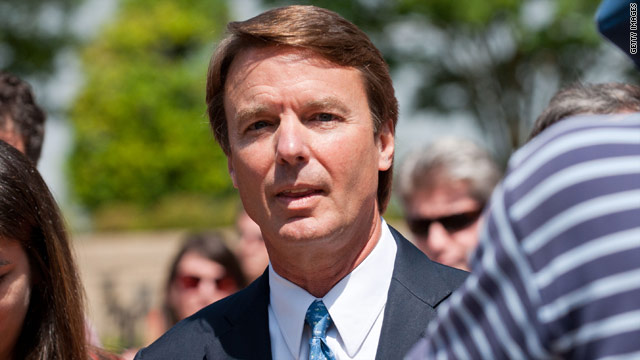 John Edwards indicted on conspiracy, campaign law violations