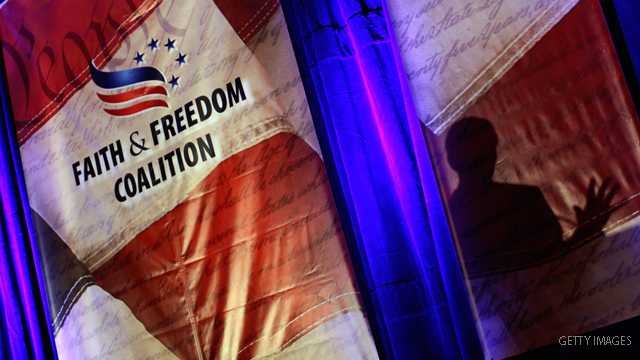 Presidential hopefuls, entrepreneurs mob Faith and Freedom Coalition conference