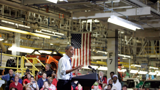 Obama on auto bailout: 'American industry is back'