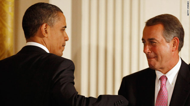 Obama and Boehner to hit the links