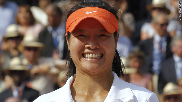 Li Na wins French Open, makes singles history