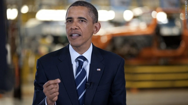 Obama heralds auto comeback in weekly address