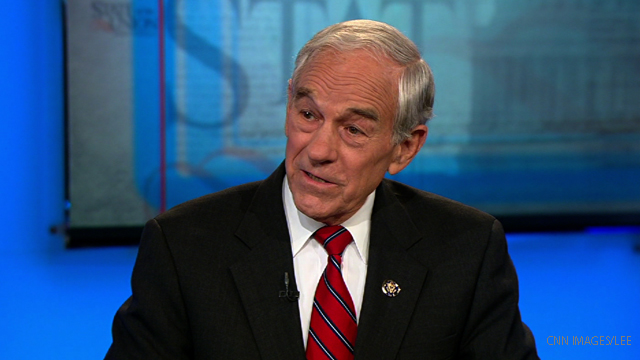 Ron Paul's big cash goal
