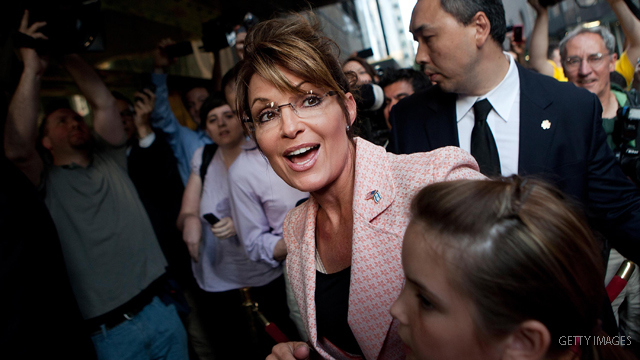 After 'big stick' rebuke, Palin goes after new stimulus