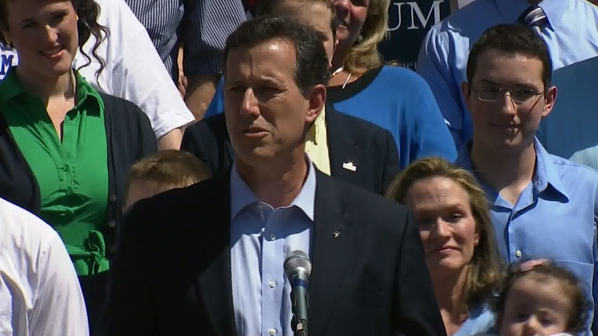 Santorum could siphon off religious conservative support from GOP field