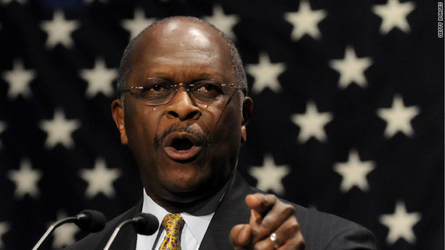 Herman Cain: 'We've got to beat Mitt Romney's money, not Mitt Romney'