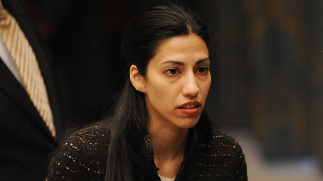Huma Abedin is not a typical congressional wife