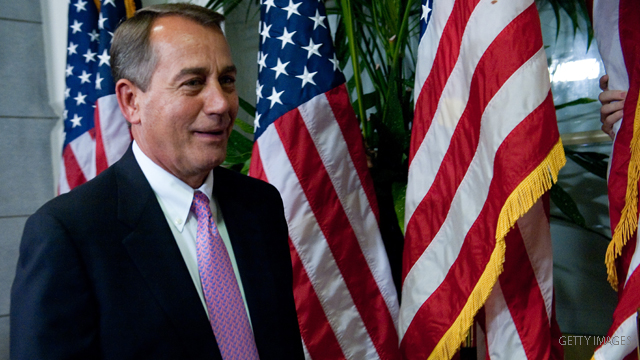 Boehner's gotta up his game ... of golf