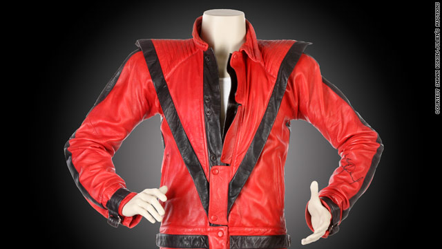 MJ's 'Thriller' jacket could go for $400k at auction