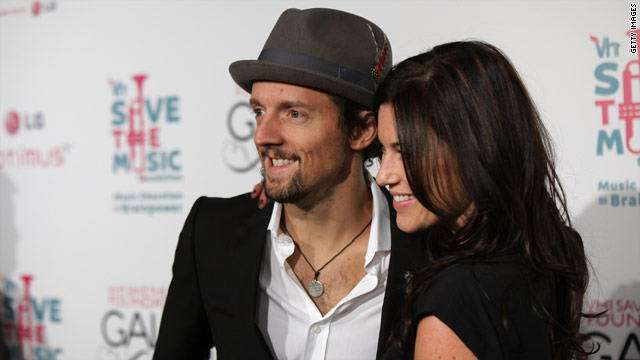 Jason Mraz and Tristan Prettyman split