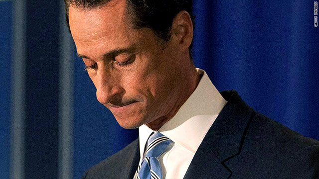 Weiner calls Bill Clinton