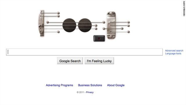 """Google """"suena"""" a ritmo de la guitarra de Les Paul"""