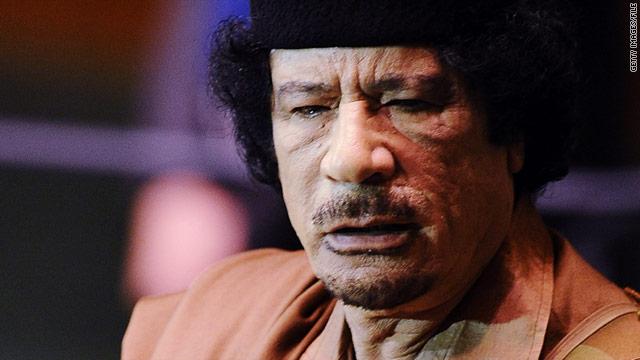 NATO official: Gadhafi a legitimate target